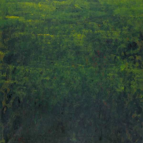 Green Landscape, 1966, oil on canvas, 100x81cm