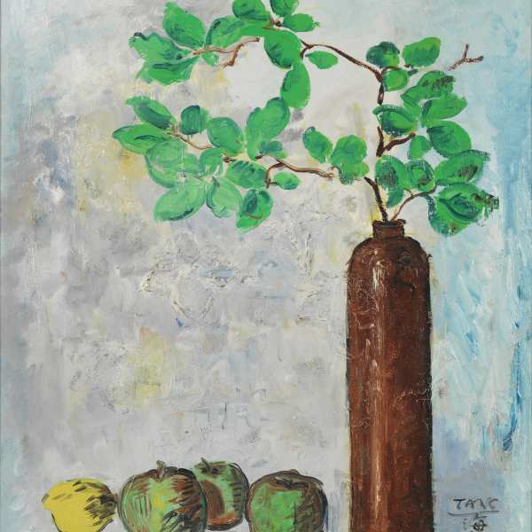 Still life, 1950, oil on canvas
