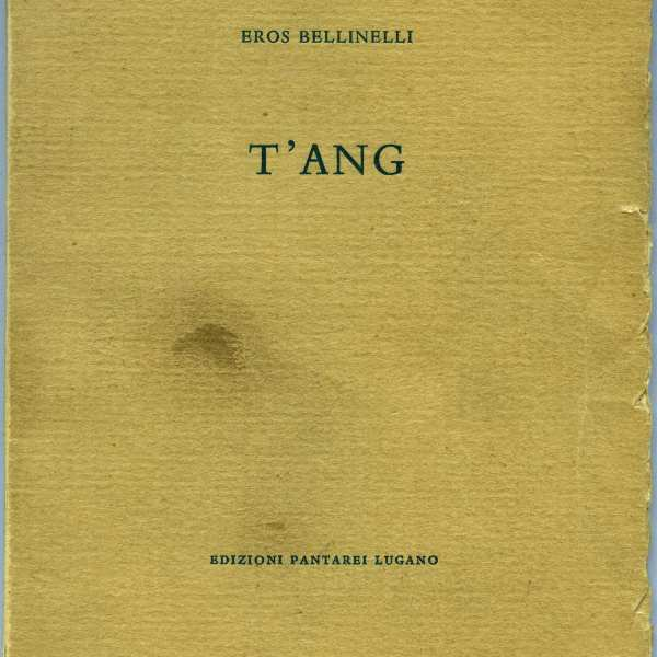 T'ANG par Eros Bellinelli