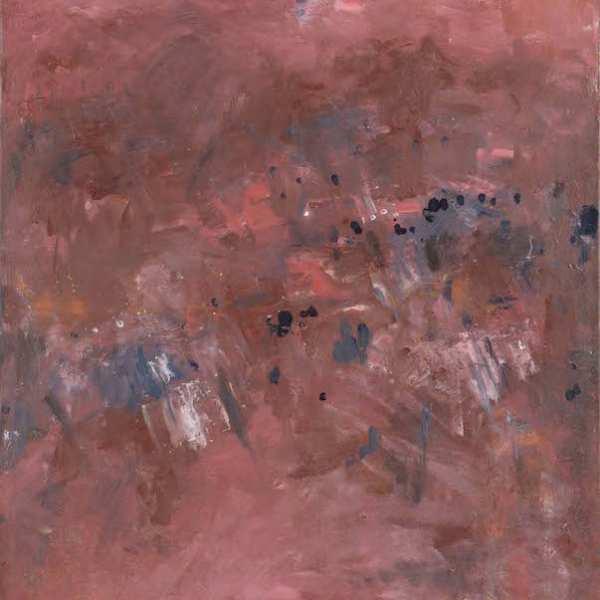 Une peinture à l'huile rare - illustré de poème
