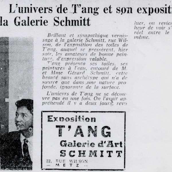 法國報紙《Le Républicain Lorrain》於1965年11月21號的報導