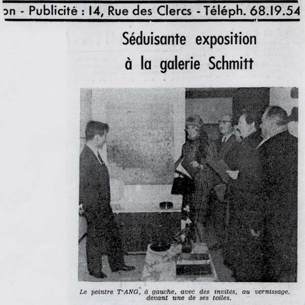 Le Républicain Lorrain (French newspaper) on 21 November 1965