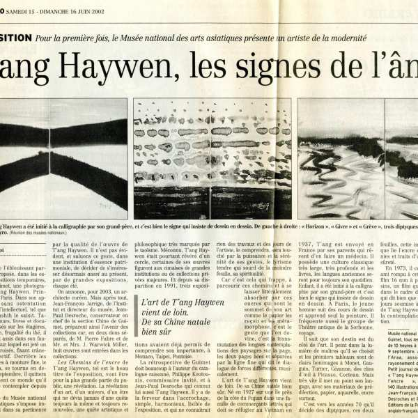 Le Figaro in June 2002